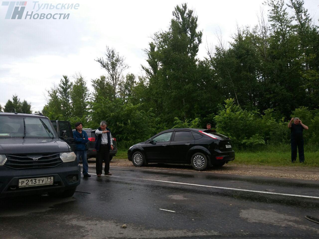 ДТП с участием  нескольких автомобилей