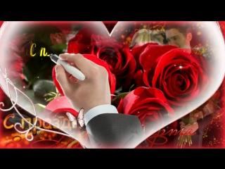 Видео открытка к 8 марта  Красивое поздравление с 8 марта_HD