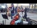 Санкт-Петербург.Уличные музыканты.Канал Грибоедова.