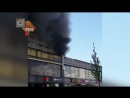Пожар на Новом Арбате