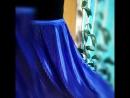 Расклешенная юбка атлас гофра