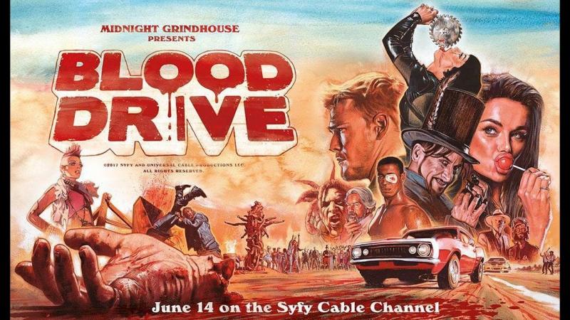 Кровавые гонки - Blood Drive - Русский трейлер (OMSKBIRD)