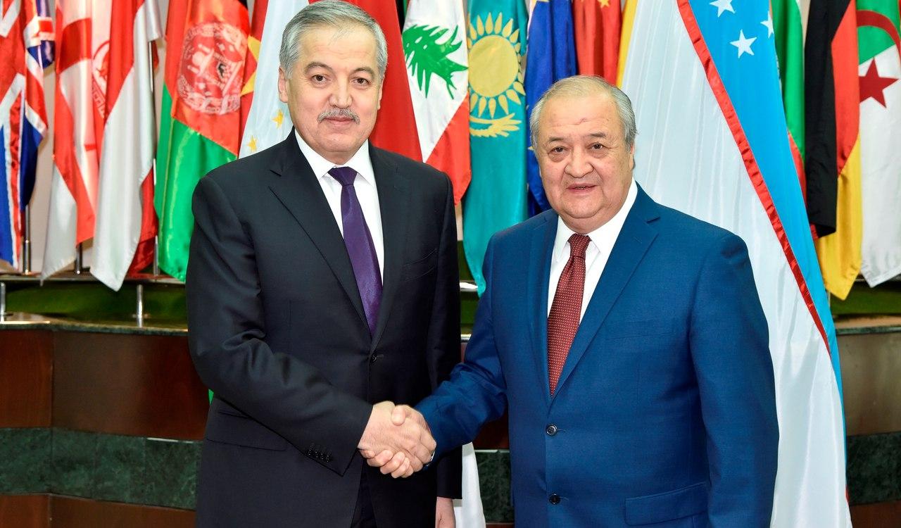 Главы МИД Таджикистана и Узбекистана обсудили вопросы сотрудничества