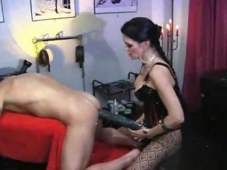 Carmen Rivera - Femdom anal dildo and fisting