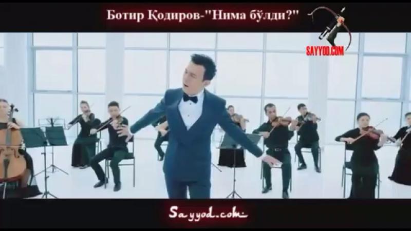 BOTIR QODIROV SENGA NIMADUR BOLDIMI MP3 СКАЧАТЬ БЕСПЛАТНО