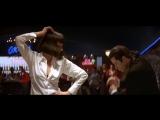 Uma Thurman and John Travolta - movie Pulp Fiction 1994.