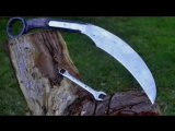 Knife making - making a huge Karambit from a massive wrench