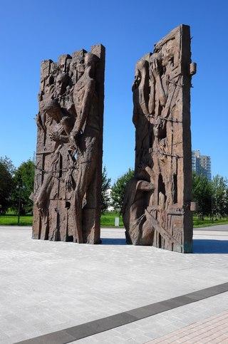 Мемориальный одиночный комплекс с крестом Гай подбор памятников Шацк