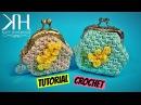 TUTORIAL PORTAMONETE CLIC CLAC MIMOSA UNCINETTO | CROCHET ● Katy Handmade