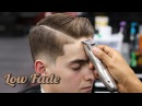 HAIRCUT TUTORIAL: COMBOVER | LOW FADE | HARD PART | BLOW DRY & STYLE