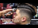 BARBER TUTORIAL: COMBOVER DROP FADE BLOW DRY & STYLE