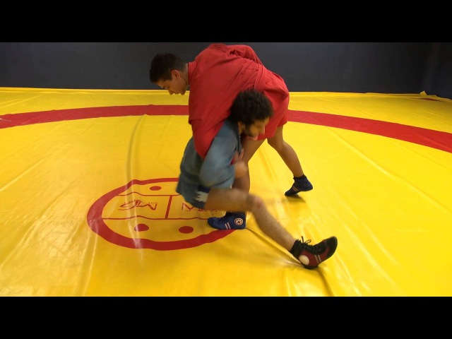 HOW TO DO A TAKEDOWN WITH ONLY ONE SLEEVE - Sambo skills - TUTO SAMBO 3