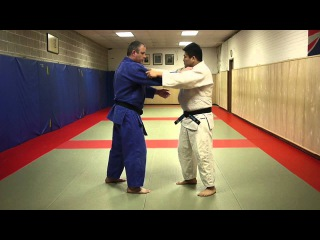 Osoto gari Judo New York city by Shintaro Higashi