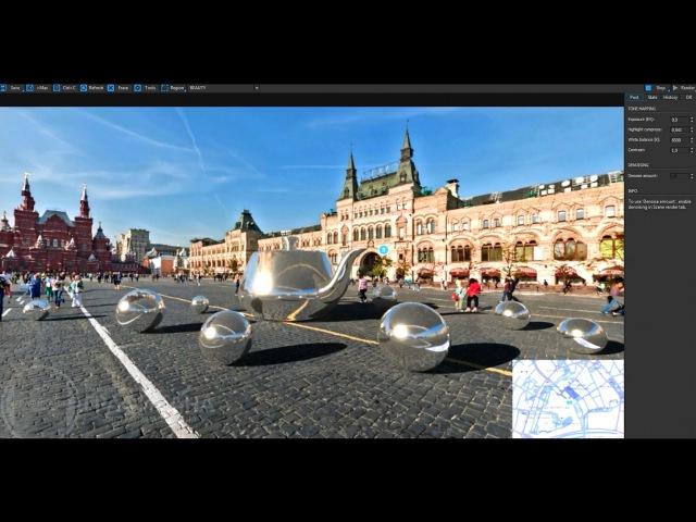 Интеграция 3d графики в фотографию. 3ds Max, Corona Renderer.