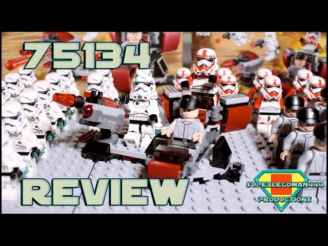 Lego Star Wars 75134 Galactic Empire Battle Pack Review