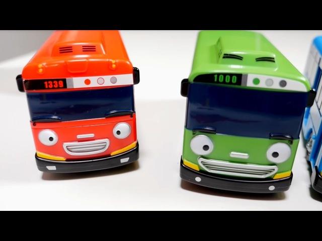 Juguetes de Tayo. Aprendemos los colores. Vídeos para niños.