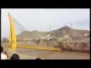 Huaicos 2017 Puente Talavera es destruido en San Juan de Lurigancho
