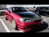 SuperCharged Tiburon battles Tuned Focus ST