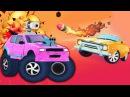 Crash Club КРУШИМ ГОРОД КРУТЫМИ ТАЧКАМИ Игровой мультик для детей про БОЕВЫЕ МАШИНКИ