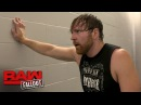 Dean Ambrose apologizes for his disqualification against The Miz Raw Fallout May 15 2017