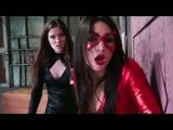 Superheroine Ryona new fight with black lady