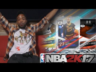 I PULLED THE BEST! LEBRON JAMES!!!!! NBA 2k17 MyTeam Pack Opening!