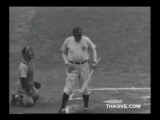 Babe Ruth vs Walter Johnson - 1942 Benefit Game Newsreel