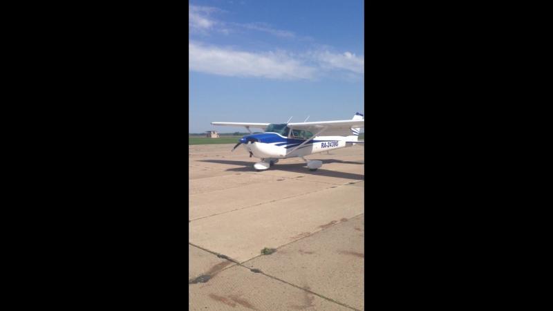 Панфилово. Cessna 172