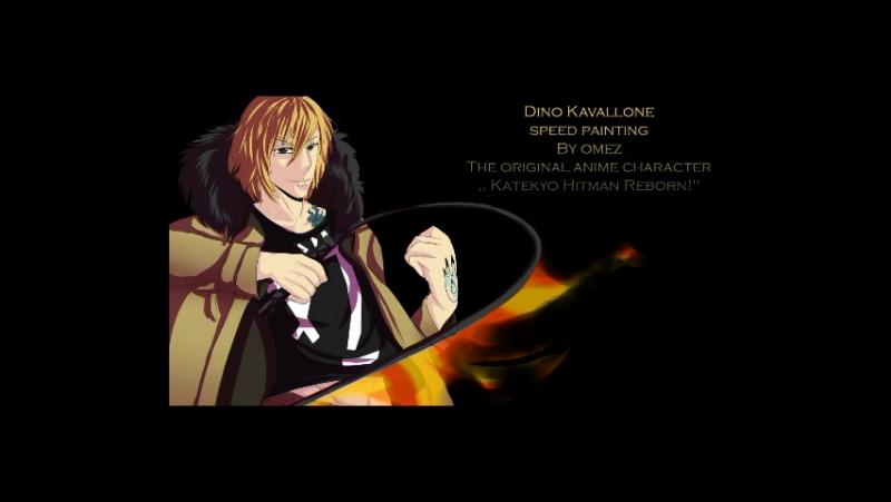 Dino Kavallone.The original anime character ,,Katekyō Hitman Reborn!