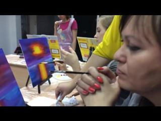 Mannequin challenge на мастер-классе по масляной живописи
