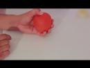 Красное яблоко превращается в зеленое