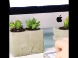 Top 5-Minute Crafts #71 Стильные бетоноукладчики DIY.Отличное украшение стола!