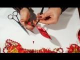 Новогодние Игрушки Канзаши, Игрушки на Елку Своими Руками _ DIY Christmas Crafts ideas