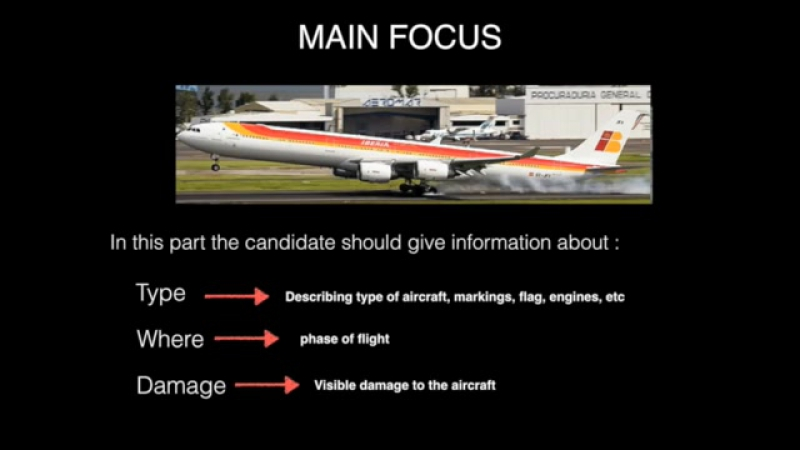 In this video you will learn how to describe a picture for the ICAO TEST.