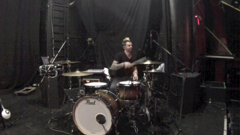 Smashing Satellites - Mykey Thomas Drum Cam - Waterfall Rehearsal