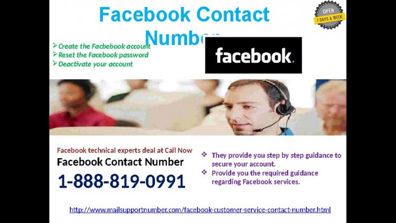 Facebook Customer Service 1-888-819-0991: A blend of elegance promptness