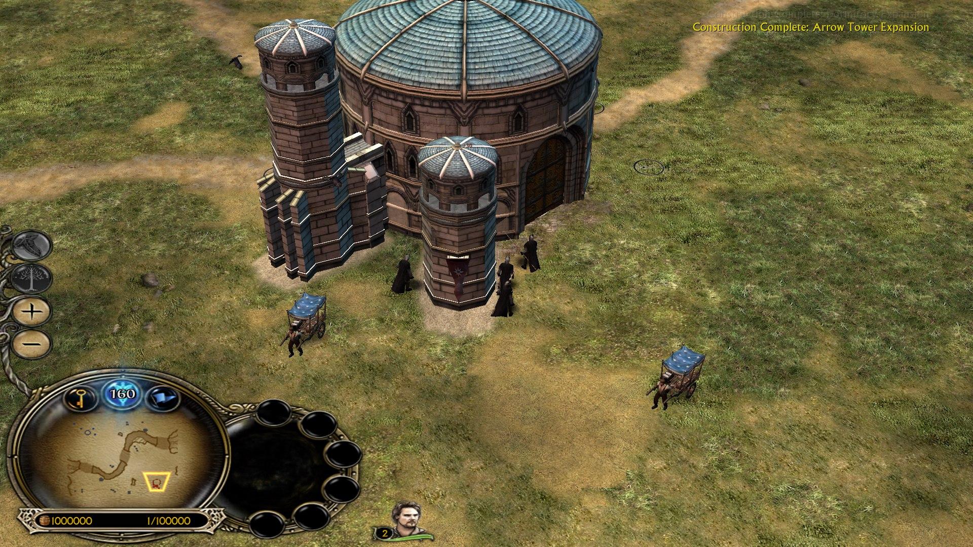 Новая пристройка на крепости Арнора