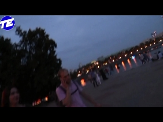Пятница. Вечер. Ночь. Он-лайн трансляция с прогулки по центру города. Без цензуры!