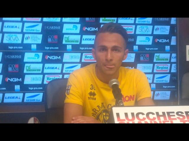 Play Off Lega Pro / Lucchese-Parma 1-2, conferenza stampa Simone Edera