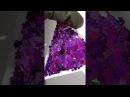 Шикарные паетки Цветок 3гр.