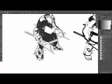 various sketching techniques timelapse