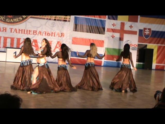Коллектив Ханан. XIII World Dance Olympiad 2016.
