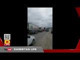 Манас. Дальнобойщики Дагестана закидали камнями проезжающие фуры