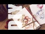 DIY Акварельные открытки
