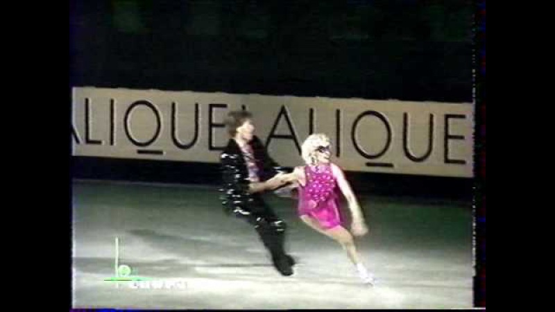 Oksana Grishuk Evgeni Platov RUS 1997 Lalique Trophy Gala 1