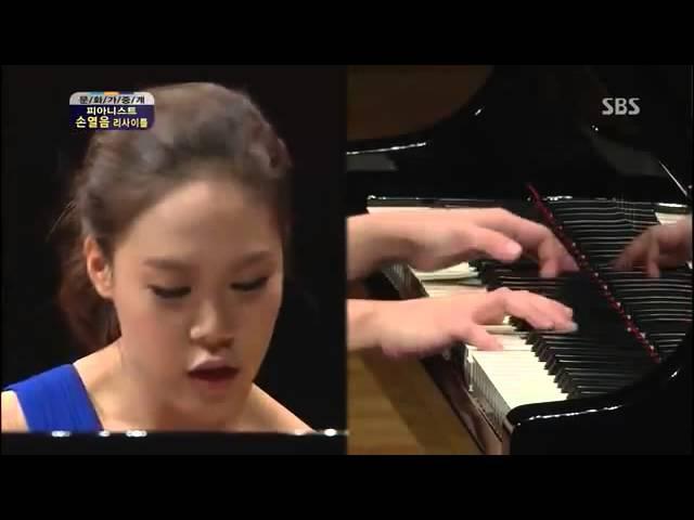 Yeol Eum Son plays Kapustin Concert Etudes Op.40 No. 6, 7, 8