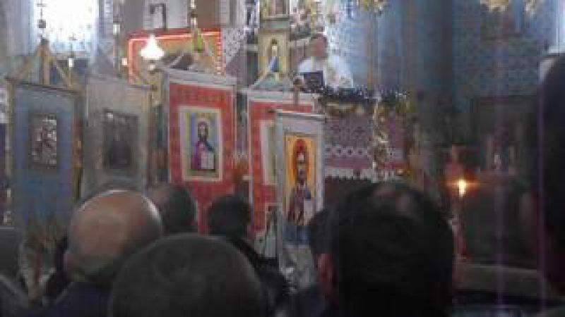 Хімчин. Проповідь настоятеля протоієрея отця Ярослава на Різдво