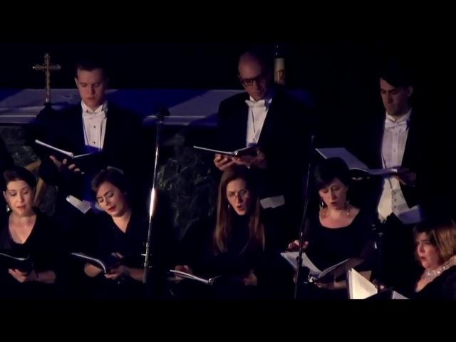 Steinberg Passion Week live in Russia Clarion Choir under Steven Fox