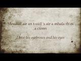 Tighinn Air A'mhuir Am Fear A Phosas Mi - Capercaillie Karaoke with English translation
