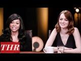 THR Full Oscar Actress Roundtable Emma Stone, Natalie Portman, Taraji P. Henson &amp More